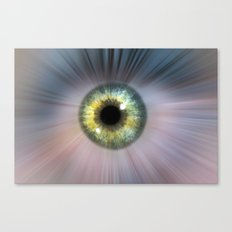 Eye Cosmic Canvas Print