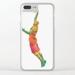 nba Clear iPhone Case