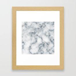 Marble Cloud Framed Art Print