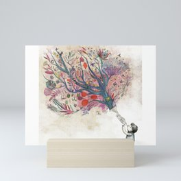 Children's dreams Mini Art Print