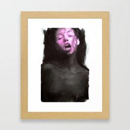 """""""silent"""" Framed Art Print"""