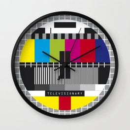 No Signal-2 Wall Clock