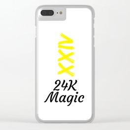 24 karat Clear iPhone Case