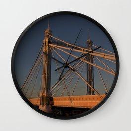 Albert Bridge London  Wall Clock
