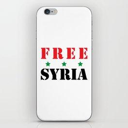 FREE SYRIA iPhone Skin