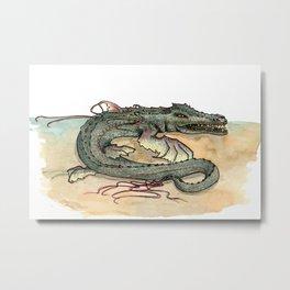 Serpentia ichneumonia (clean version) Metal Print