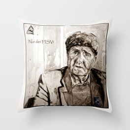 August - The HSV fan Throw Pillow