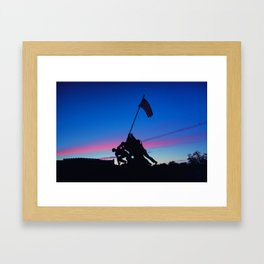 Iwo Jima Framed Art Print