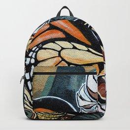 Bird Graffiti Backpack