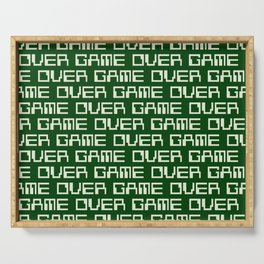 Game Over (i) Serving Tray