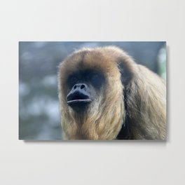 Howler Monkey 1 Metal Print