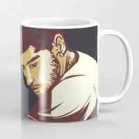 zayn malik Mugs featuring Malik by Rosketch