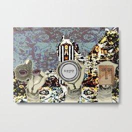 Artist Trading Card - Magi Metal Print