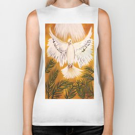 Spirit of the Lord is Upon Me Biker Tank