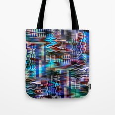 Mixed Woven Tote Bag