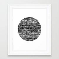 dot Framed Art Prints featuring Dot by Tillytyler
