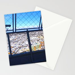 The Niagara Falls town Stationery Cards