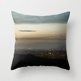 san jose city Throw Pillow