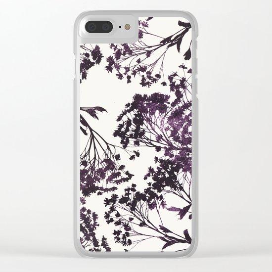sugar maple 3 Clear iPhone Case