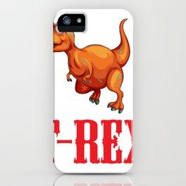 T-Rex - Dinosaur For Boys Girls Kids iPhone Case
