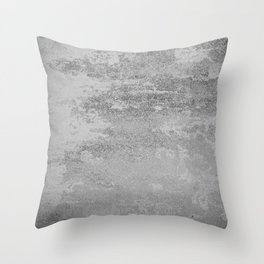 Simply Concrete Throw Pillow