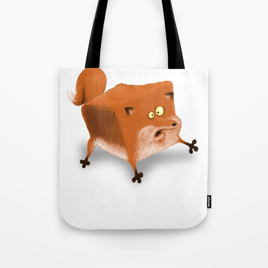 Box in a Fox Tote Bag