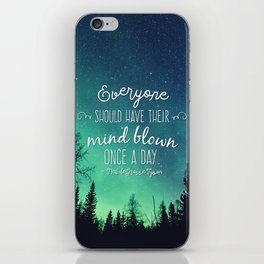 Inspirational Poster - Neil deGrasse Tyson Quote iPhone Skin
