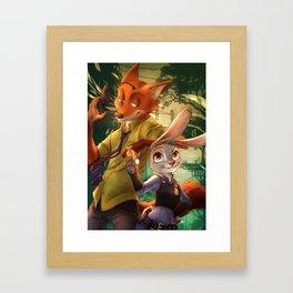 zootopia Framed Art Print