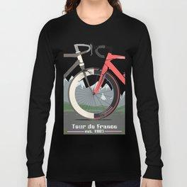 Tour De France Bicycle Long Sleeve T-shirt