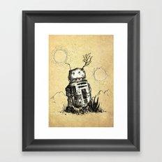 Bad Motivator Framed Art Print