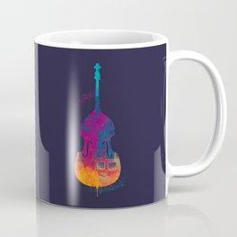 Double Bass Color Coffee Mug