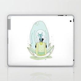 Travel by grasshopper Laptop & iPad Skin