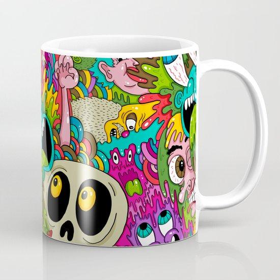 Puke Pattern Mug