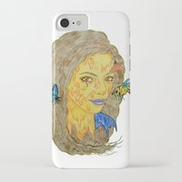 lorde iPhone & iPod Cases featuring Lorde by Montana