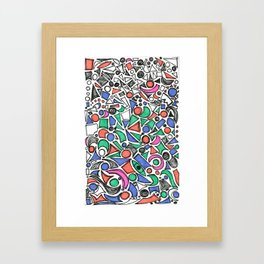 The Little Things Add Up - Ink on paper Framed Art Print