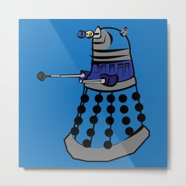 Pop Dalek Metal Print