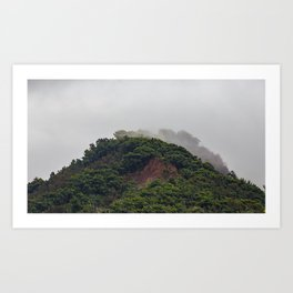 Maui Mountain Tops Art Print
