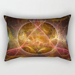Fire of Salaman Rectangular Pillow