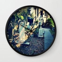 'Til death do us part - Color Wall Clock