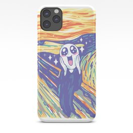 Kawaii Scream iPhone Case