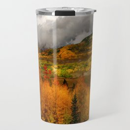 Autumn Scene at Crested Butte, Colorado Travel Mug