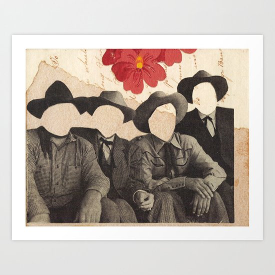 Lonesome Quartet Art Print