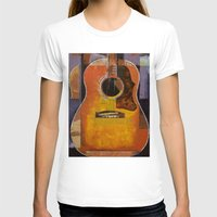 guitar T-shirts featuring Guitar by Michael Creese