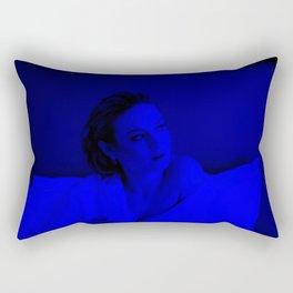 Brie Larson - Celebrity (Dark Fashion) Rectangular Pillow