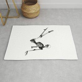 Skeleton Breakdance Rug