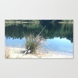 Rod and Reel Canvas Print