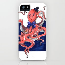 ::Mister Octopus:: iPhone Case