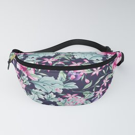 Floral Pattern 1 Fanny Pack