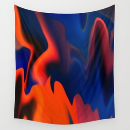 Fire Camp Wall Tapestry