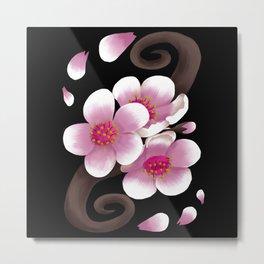 Sakura Design Metal Print